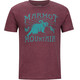 Marmot Sunrise t-shirt Heren rood